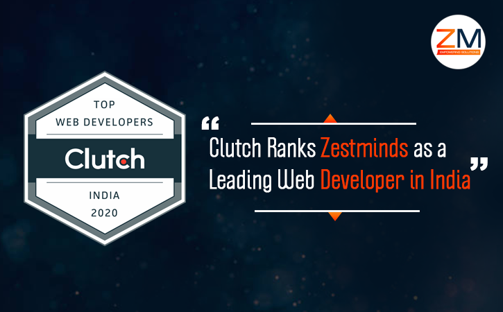 Clutch Ranks Zestminds as a Leading Web Developer in India