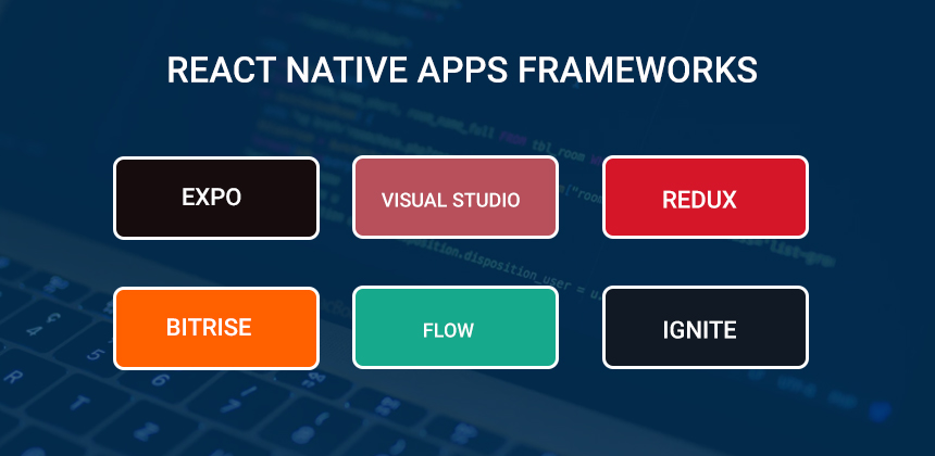 React Native apps Frameworks