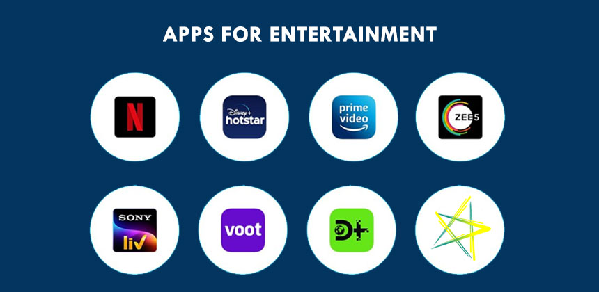 Apps for Entertainment