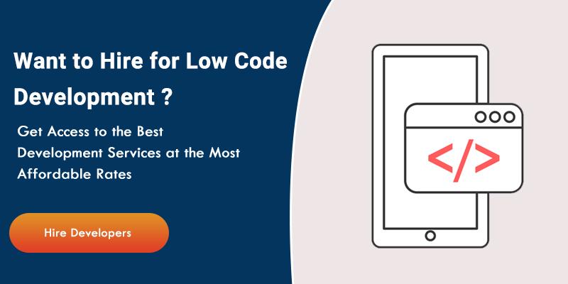 Hire Low-Code Development