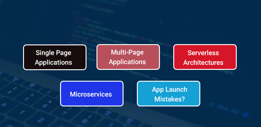 Different kinds of web application architecture