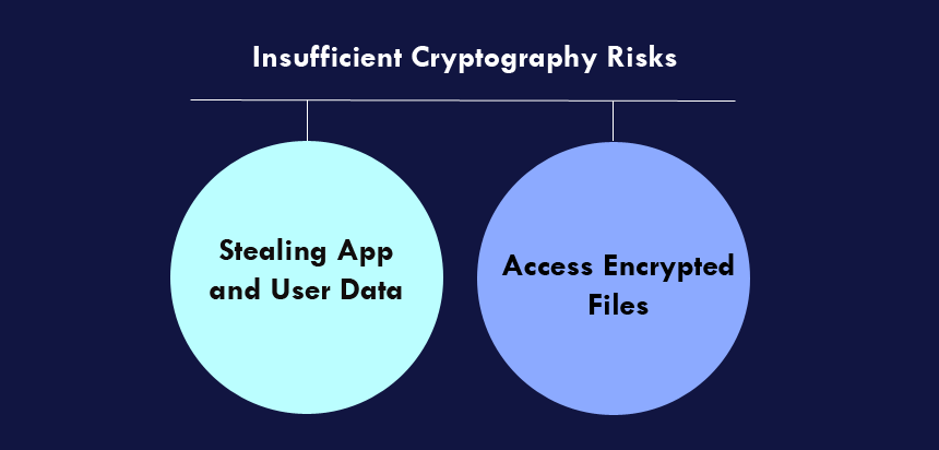 Insufficient Cryptography Risks