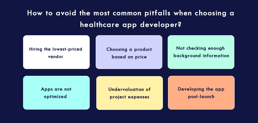 consider before partnering with a healthcare application development company